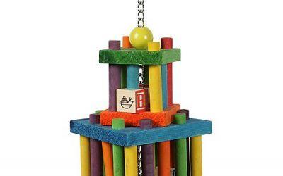 Happy Pet Building Block Maze – Juguete para Loros