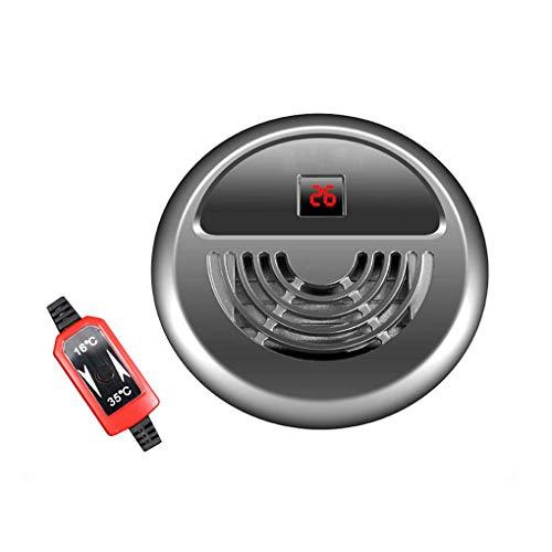 LQUIDE Calentador Automático De Pecera De Temperatura Constante, Varilla Calefactora Led para Calentador De Acuario, con Ventosa Fija Abs Carcasa De Protección Ambiental , mascotas